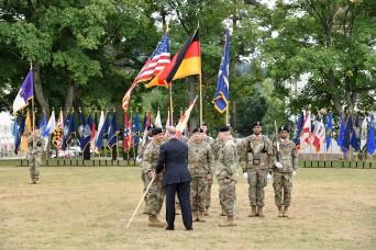 USAG Rheinland-Pfalz welcomes new commander