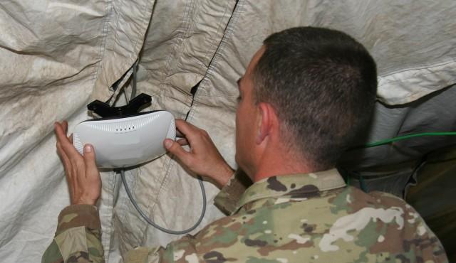 Army fields Secure Wi-Fi