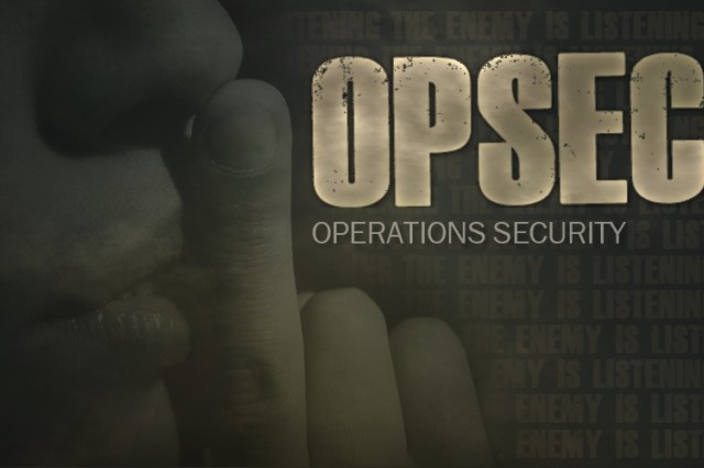 It is important for Soldiers, Army Civilians, and Army Families to practice OPSEC when using social media.