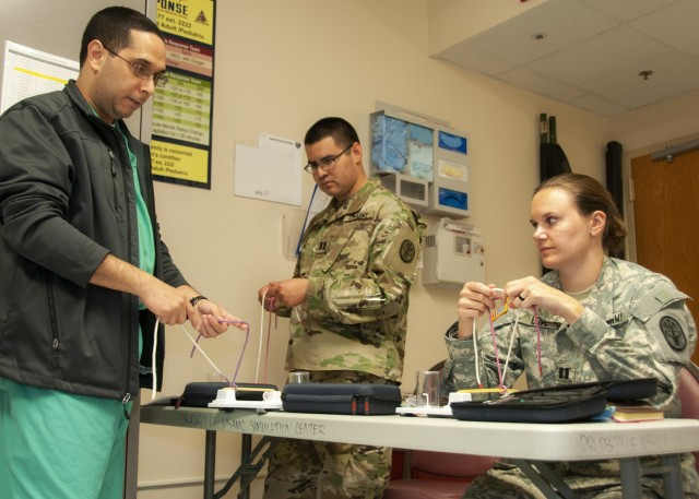 GME Interns get hands-on during first-ever simulation boot camp