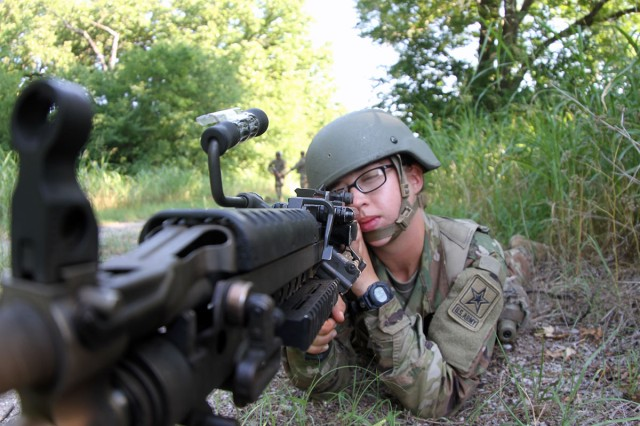 Trainees 'Forge' into Soldiers during Basic Combat