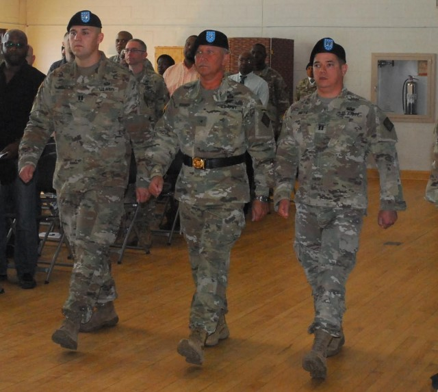 20th CBRNE HHC Change of Command