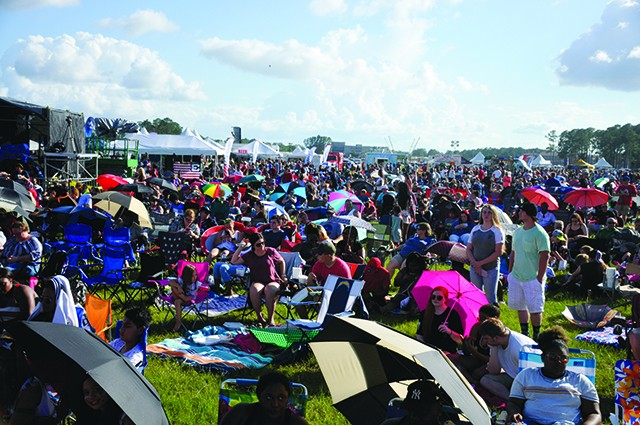 More than 17,000 people attended the Marne Independence Day Celebration concert, July 4 at Fort Stewart.