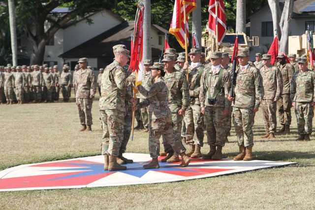 130th Engineer Brigade changes command