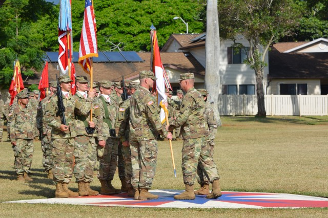 130th Engingeer Brigade changes command