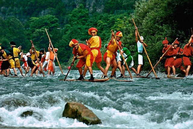 Out&About - Raft Race in Valstagna (Veneto)
