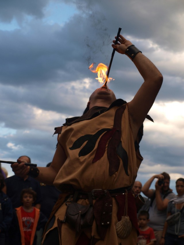 Out & About - Medieval Festival (Tuscany)
