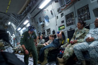 'Time travel' brings Army Guard members home from Mongolia