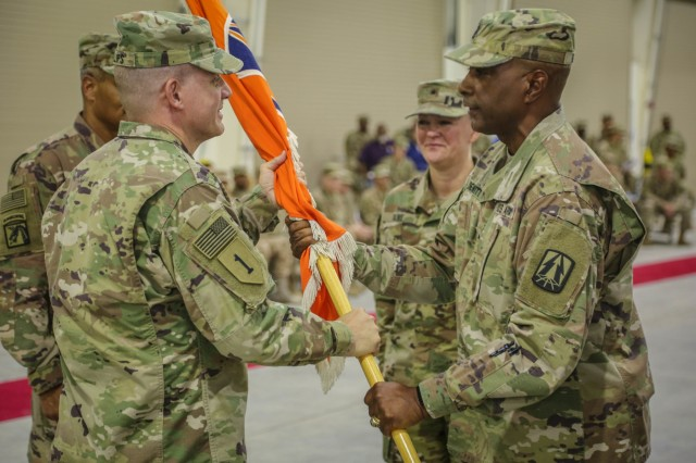 335th Signal Command (Theater) (Provisional) welcomes new commander - Bg. Gen. Nikki Griffin Olive