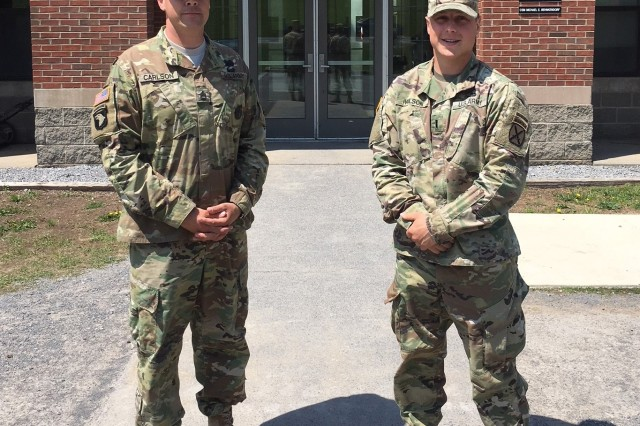 Sgt. 1st Class Jacob Carlson and 1st Lt. Jacob Wilson, both with A Company, 41st Brigade Engineer Battalion, 2nd Brigade Combat Team, 10th Mountain Division (LI), will embark on a charity climb Aug. 2-3 on Mount Adams in Washington, to support Habitat for Humanity.