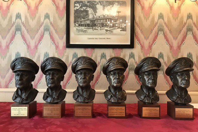 The General Douglas MacArthur Leadership Award.