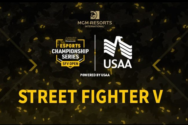Eight garrisons world wide are participating in 'Street Fighter V' tournaments. Four locations will be live streamed through Twitch.tv at www.twitch.tv/ArmyEntertainment. The finalist from each garrison will move onto the finals at PAX West in Seattle, Washington on Sept. 1.