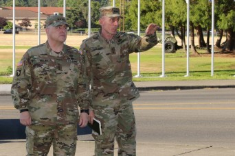 Chief of Staff of the Army Visits JBLM