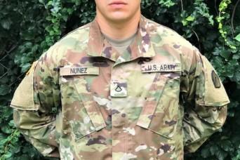 """Team 19"" Soldier prevents suicide"