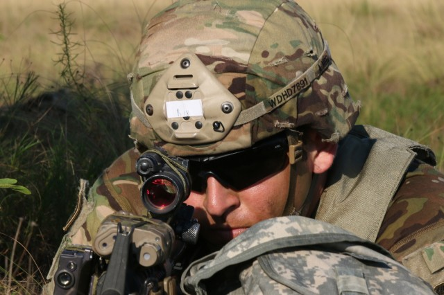 82nd Airborne Division mortarman jump into Operation Devil Storm
