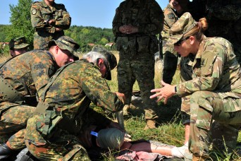US Soldiers train with German Army Reserve soldiers