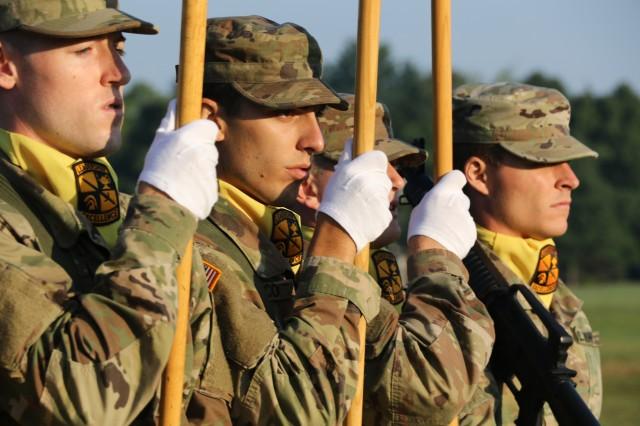 5th Regiment, Advanced Camp Graduates July 25, 2018.
