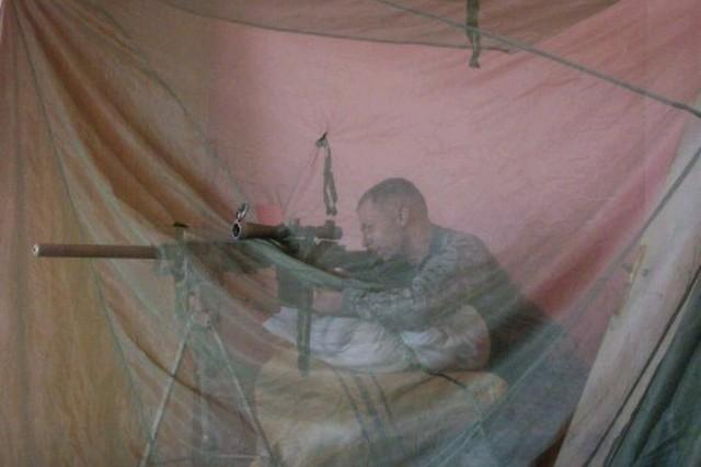 Sgt. 1st Class Spraggins Iraq 2010 (Photo Courtesy James Spraggins)