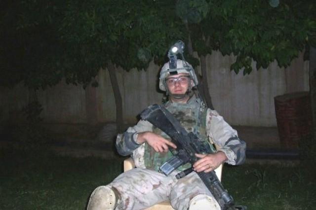 Sgt. 1st. Class James Spraggins Iraq 2008, (Photo courtesy James Spraggins)