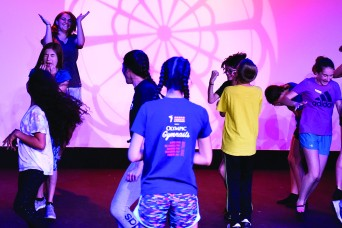 Theater professionals conduct youth camp