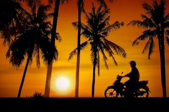 Riding in Paradise