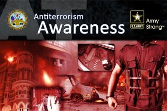 USAG Rheinland-Pfalz offers Antiterrorism Awareness Month information