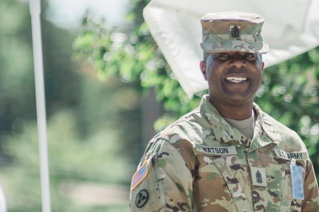 Sgt. Maj. Paul Watson