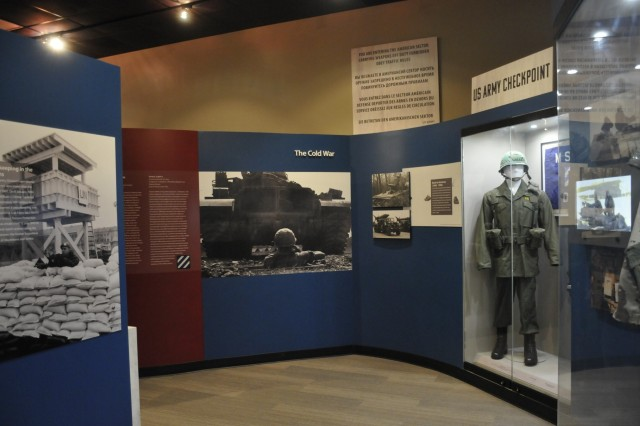 The 3rd ID museum contains more than 6,000 square feet of colorful displays that detail the Marne Division's legacy and early and contemporary Fort Stewart history. (U.S. Army Photo by Michelle Cowart)