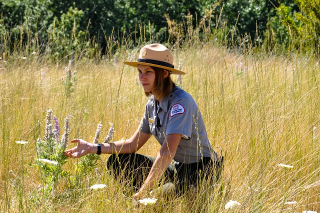 Sandy Hattan is a Park Tech and Pathways Intern with the Walla Walla District U.S. Army Corps of Engineers. She is also a student at Whitman College, studying biology. Depending on the day, Hattan might spend a couple hours in the office, working with contractors and volunteers, however, rangers try to stay out in the field, as most of their duties have to do with taking care of the parks and making sure people follow the rules. To learn more about the Pathways Program please log onto: https://www.opm.gov/policy-data-oversight/hiring-information/students-recent-graduates/#url=Program-Fact-Sheets