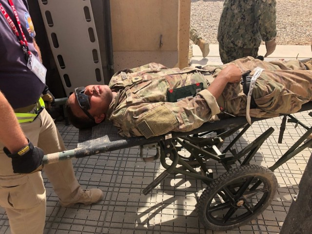 3rd Cavalry and Coalition Forces Sharpen MASCAL Skills