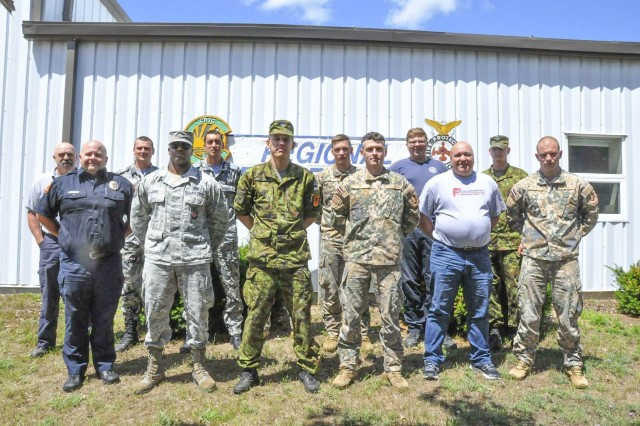 From July 23 to Aug. 3, 2018, firefighters from Latvia, Bulgaria, and Estonia attended an Incident Command course at Alpena Combat Readiness Training Center, gaining familiarity with tactics and techniques applicable during the initial decision-making phase of an emergency response situation.