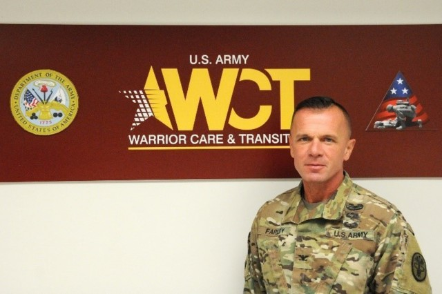 Col. Gary Farley, Synchronization Director for Army Warrior Care and Transition. (Photo by Evan George, Warrior Care and Transition)