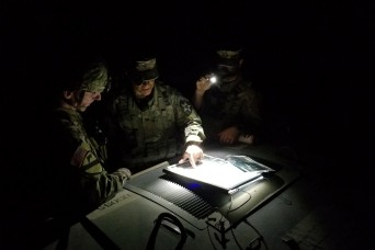 2nd Stryker Brigade Combat Team, 2nd Infantry Regiment is ready to fight tonight during Courage Read