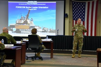 Forces Command Leaders Synchronize to Be 'Ready Now'