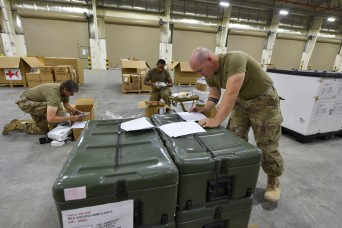 Army Tests Readiness of Medical Prepositioned Stocks