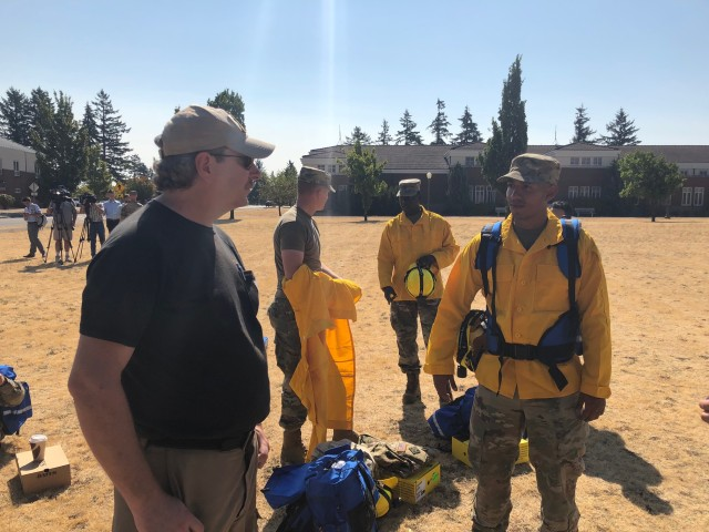 2-2 SBCT Soldiers train for Wildfire Mission
