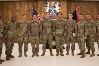 1st Brigade Combat Team Soldiers receive awards for valor