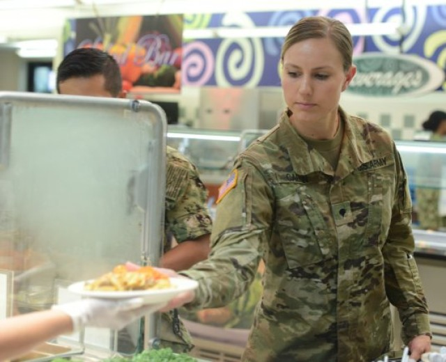 Automated meal entitlement system, food trucks to improve Soldier dining experience