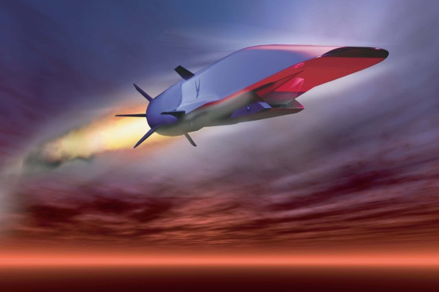 "The U.S. Air Force is set to demonstrate the hypersonic X-51A Waverider, which is designed to ride on its own shock wave and accelerate to about Mach 6. Hypersonics will ""revolutionize military affairs in the same fashion that stealth did a generation ago, and the turbojet engine did a generation before,"" according to an Air Force study."