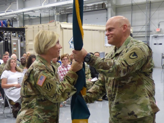 U.S. Army Hosts Change of Command Ceremony
