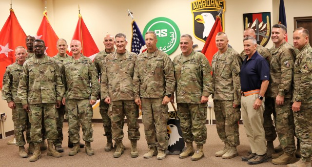 1st SFAB Commander earns 1st Star and Promotion to Brigadier General One Year After Activating New Brigade