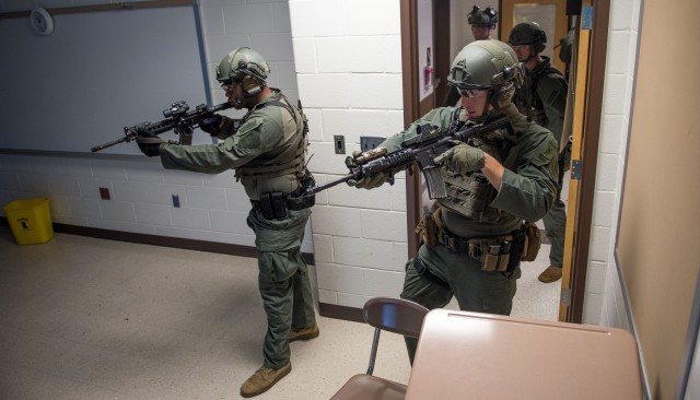 MDW conducts interagency active-shooter training