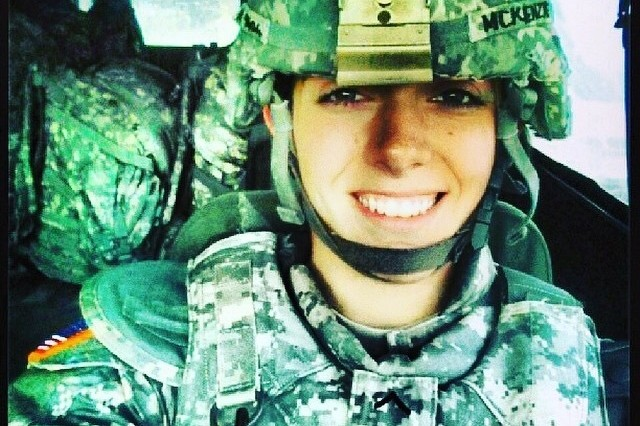 New York Army National Guard Spc. Nicole McKenzie, a member of Company A, 101st Expeditionary Signal Battalion, used her combat life saver skills to help save the life of a 12-year-old boy who jumped from an overpass in Yonkers, N.Y. on Aug. 3, 2018.