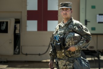 Army physician embraces the same field experience as his Soldiers to care for them
