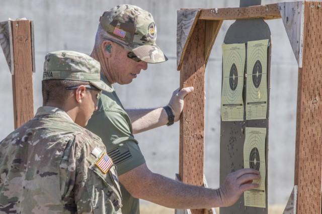 Ghost Brigade Soldiers sharpen shooting skills