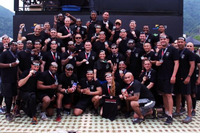 Senior leaders build camaraderie during Spartan Race