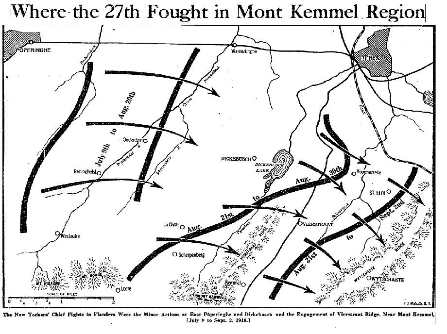 ny national guard s 27th division fought first battle at the end of 102nd Combat Engineers original