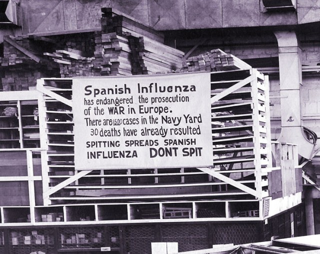 Worldwide flu outbreak killed 45,000 American Soldiers during World War I