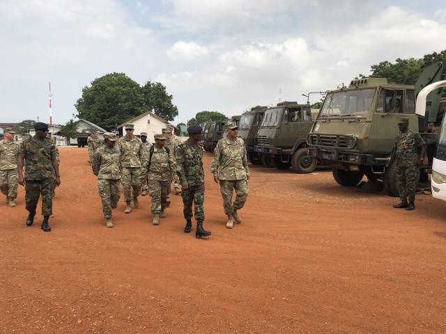 13th ESC Soldiers Return from Ghana