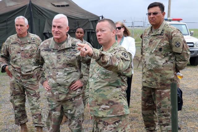 Brig. Gen. LeBoeuf visits CSL during UA18